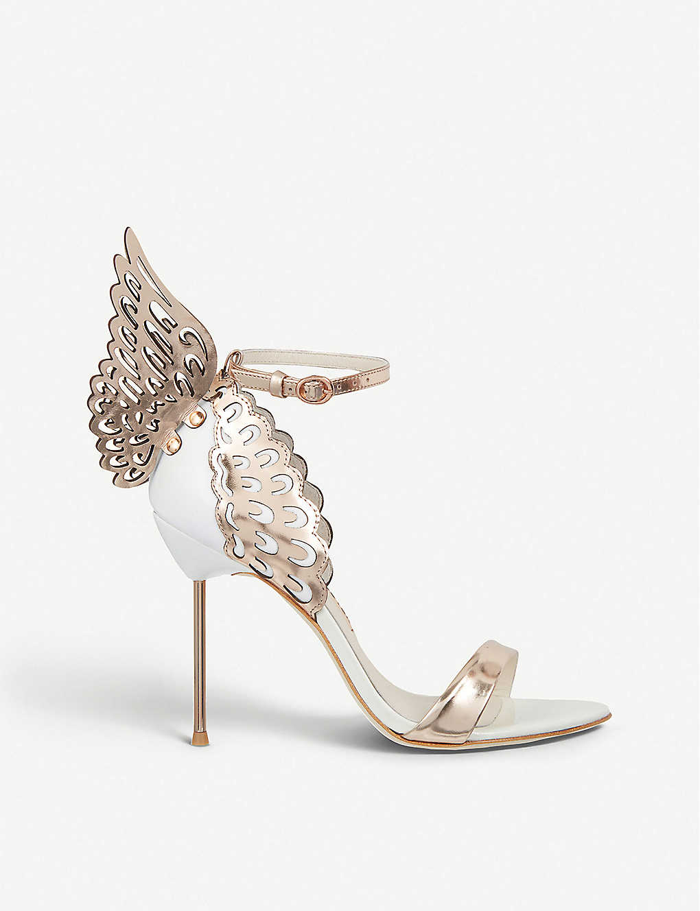 674ab7bc6015 SOPHIA WEBSTER - Evangeline winged heeled sandals