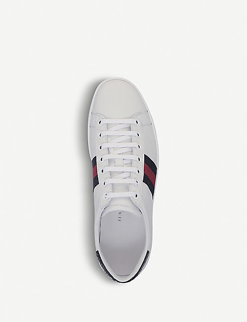 GUCCI New Ace leather trainers
