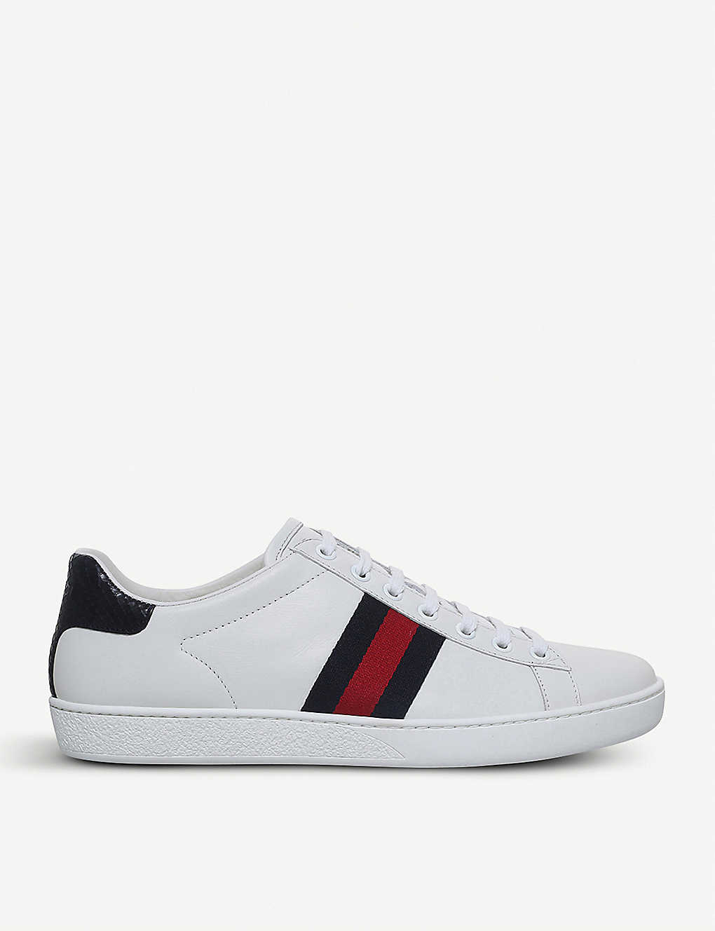 Gucci Shoes New Ace leather trainers