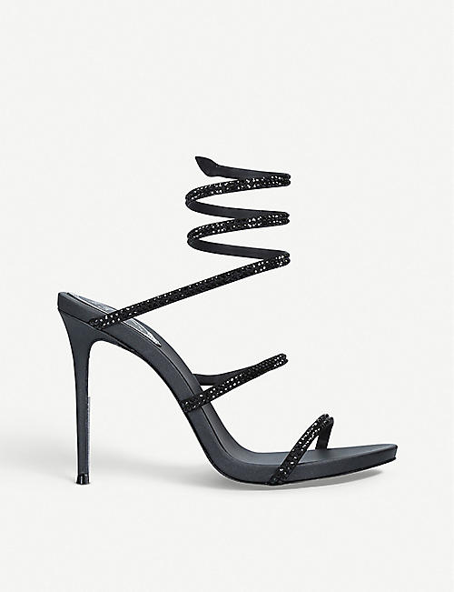 RENE CAOVILLA Cleo leather sandals