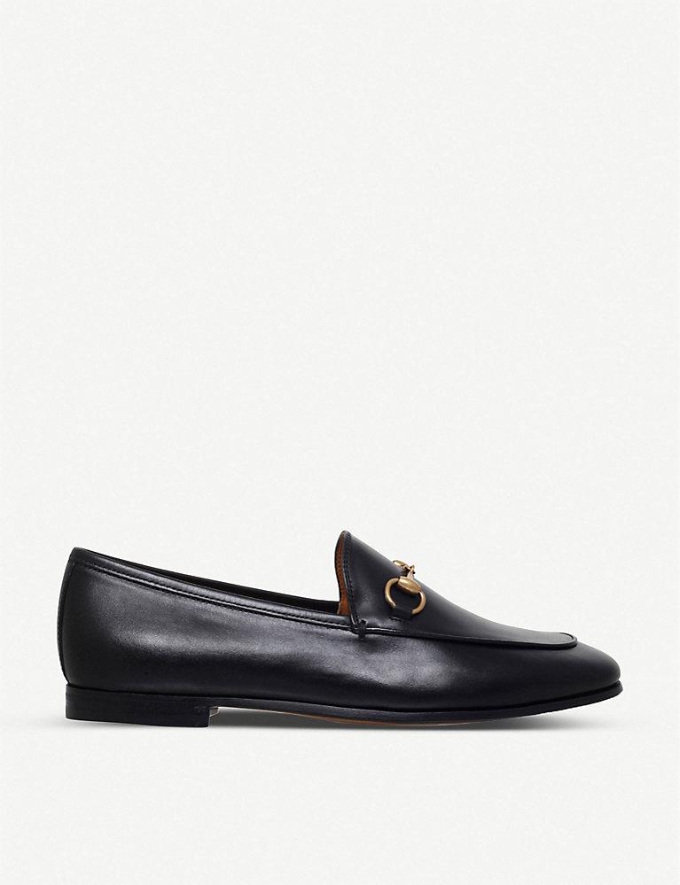 0371ea1c8 GUCCI - Jordaan leather loafers | Selfridges.com