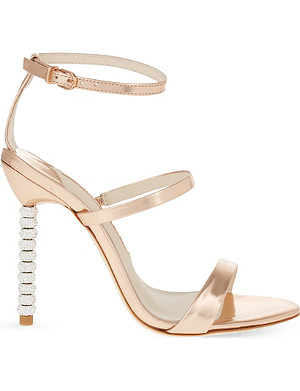 SOPHIA WEBSTER Rosalind crystal heeled sandals