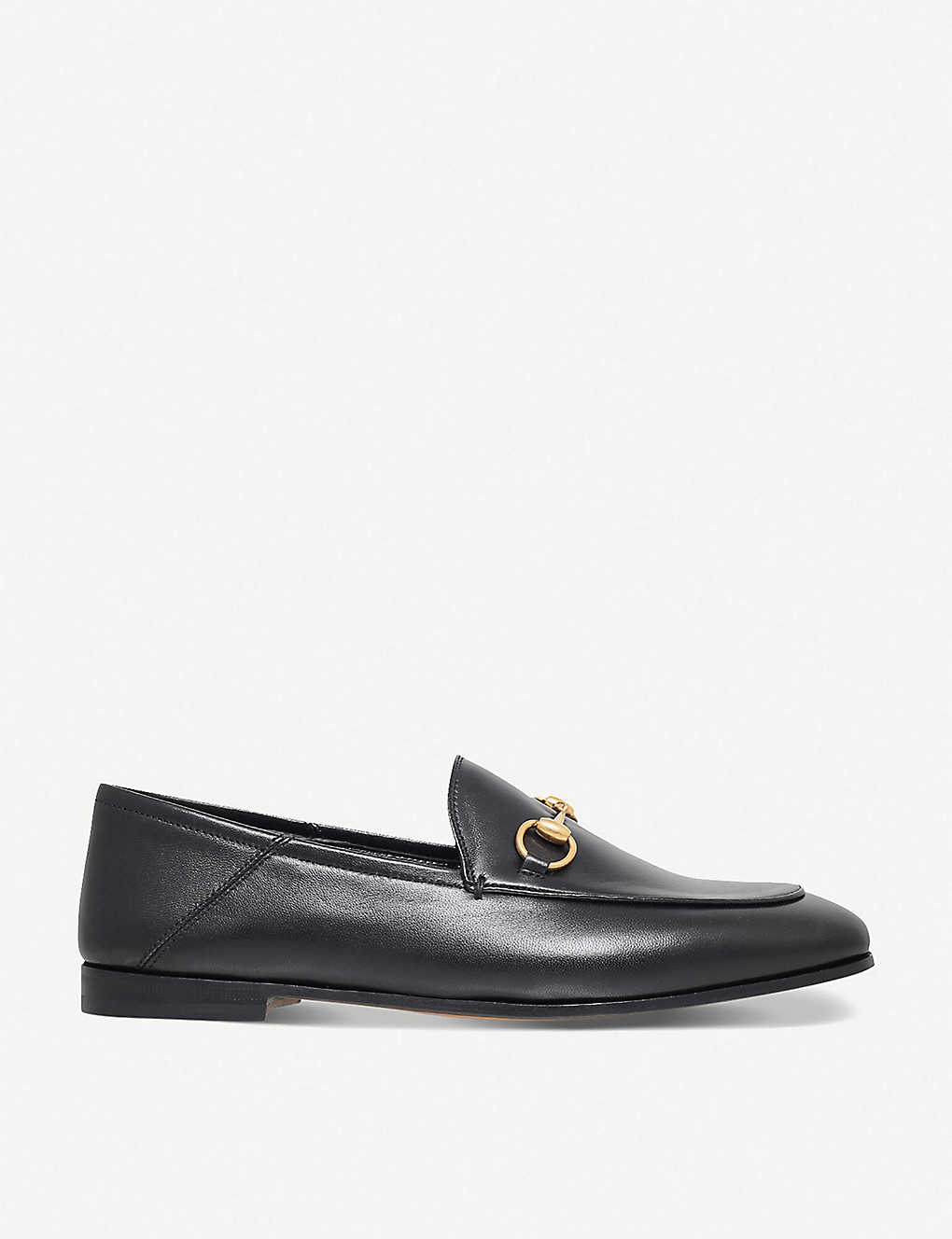 9beff3e6f GUCCI - Brixton collapsible leather loafers | Selfridges.com