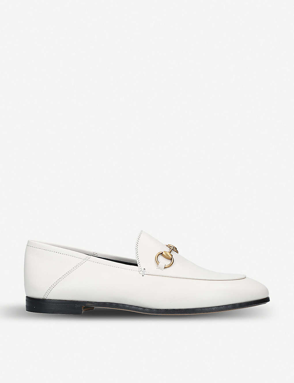 Gucci Flats Brixton collapsible leather loafers