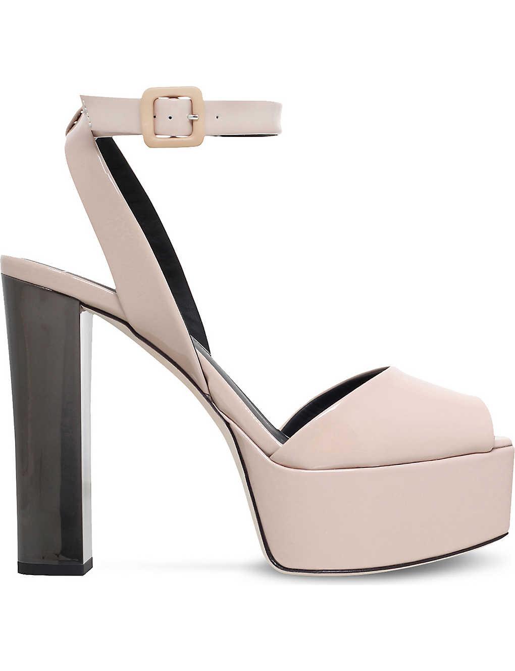 3705d05f55925 GIUSEPPE ZANOTTI - Betty platform patent leather sandals ...