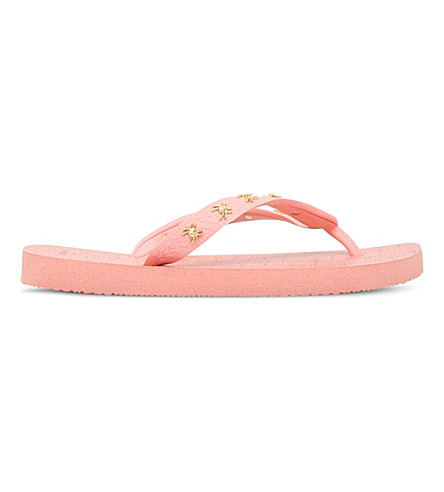 cd1d73873b5f CHARLOTTE OLYMPIA Web Havaianas rubber flip-flops (Pale+pink