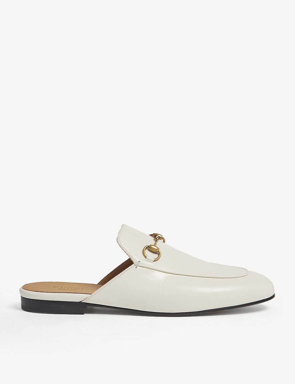 55d0534bb GUCCI - Princetown leather slippers | Selfridges.com