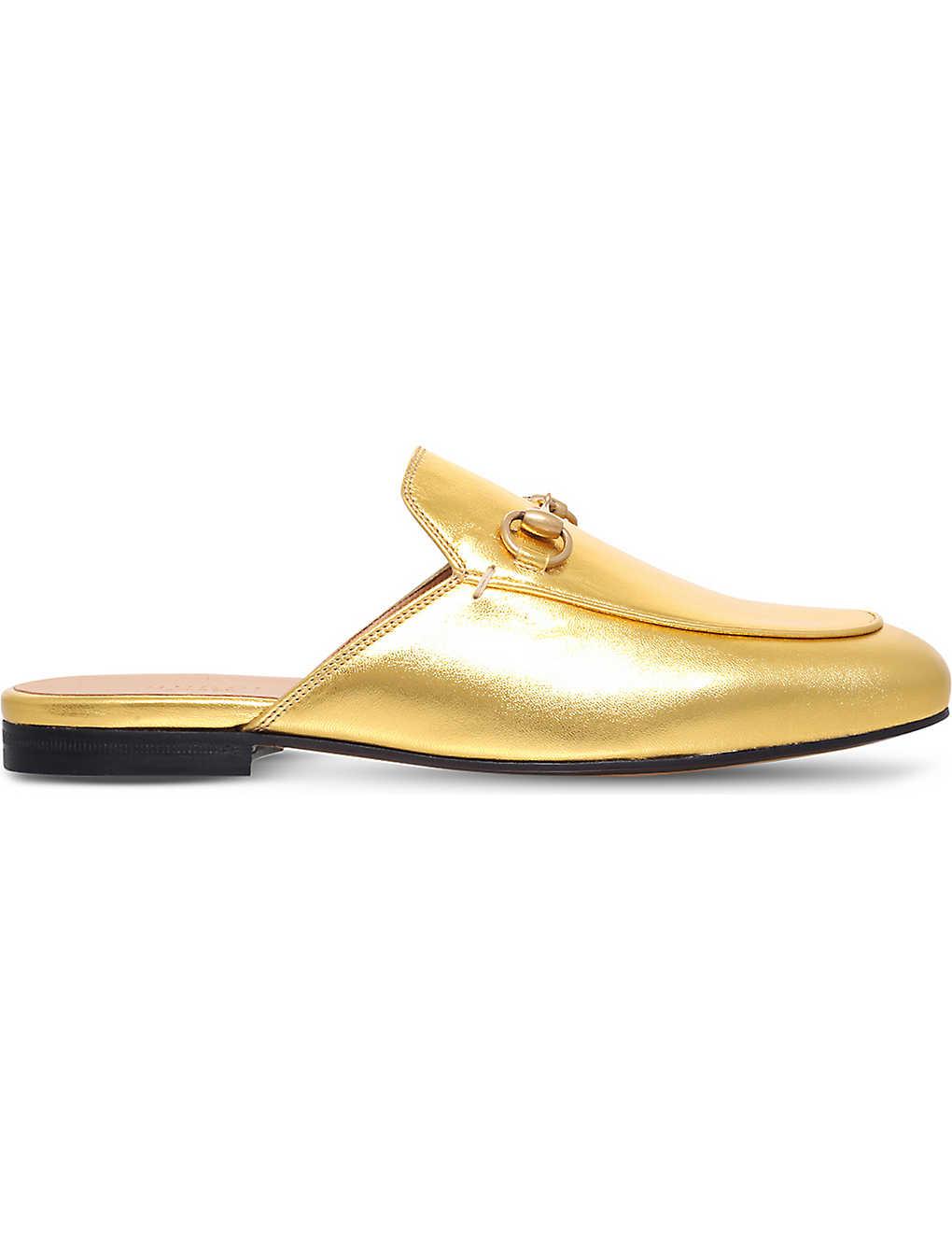 ff8656f9d63 GUCCI - Princetown leather slipper