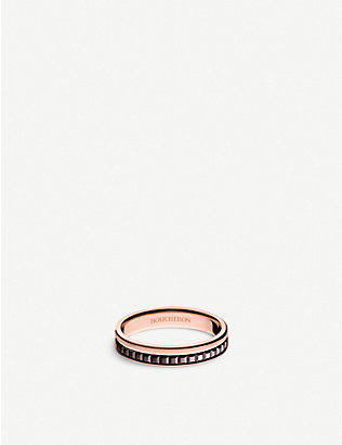 BOUCHERON: Quatre Classique 18ct pink-gold wedding band