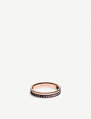 BOUCHERON Quatre Classique 18ct pink-gold wedding band