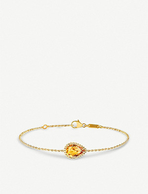 BOUCHERON Quatre radiant edition 18ct Serpent Bohème 18ct yellow-gold bracelet with serpent motifd