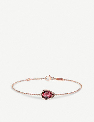BOUCHERON Serpent Bohème pink-gold bracelet with serpent motif
