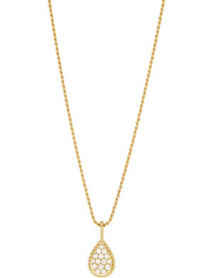 BOUCHERON Serpent Boh?me 18ct yellow-gold and diamond necklace