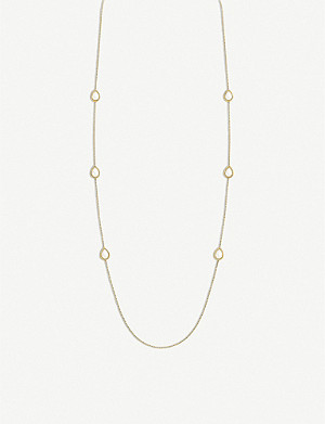 BOUCHERON Serpent Bohème 18ct yellow-gold and white mother-of-pearl necklace