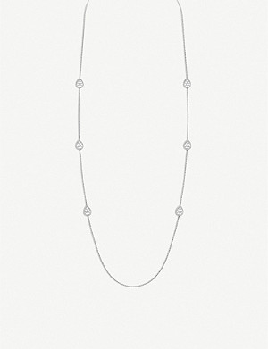BOUCHERON Serpent Boh?me 18ct white-gold and diamond necklace