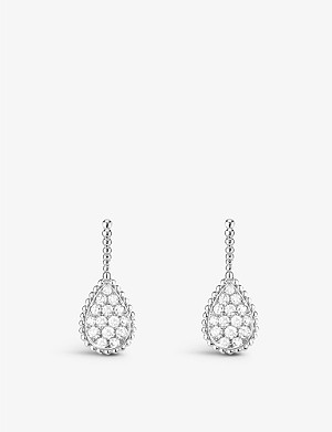 BOUCHERON Serpent boheme diamants earrings