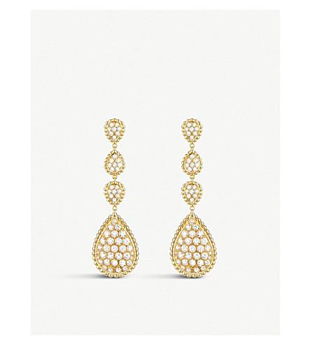 Boucheron SERPENT BOHÈME 18CT YELLOW-GOLD AND DIAMOND PENDANT EARRINGS