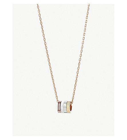 31523b6d4bbb BOUCHERON Quatre Classique pavé diamond and 18ct gold mini ring pendant