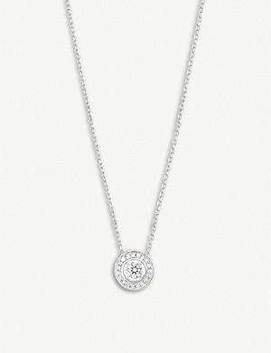 BOUCHERON Ava round diamond white-gold necklace