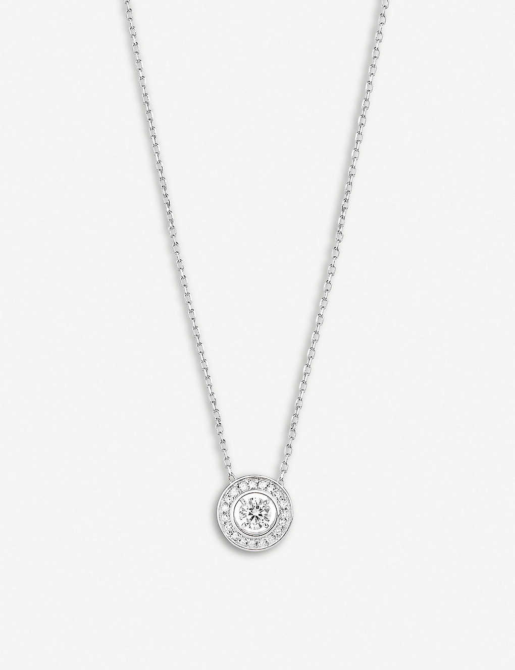 BOUCHERON: Ava round diamond white-gold necklace