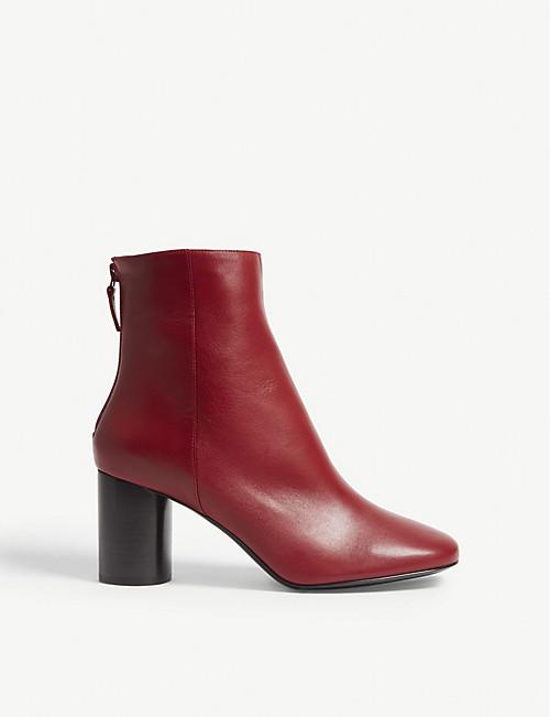 58b8b644dfd21 SANDRO - Sacha leather ankle boots | Selfridges.com