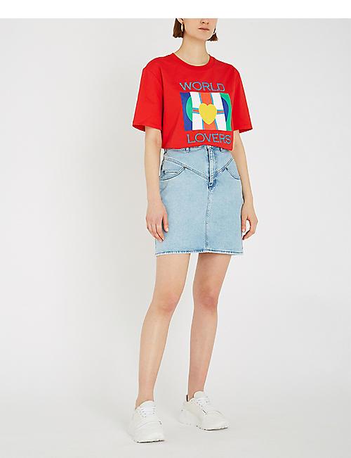 798f554ae1 SANDRO - Skirts - Clothing - Womens - Selfridges | Shop Online