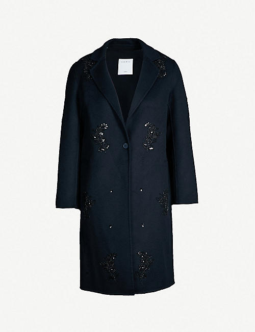 93364224d0d SANDRO - Coats   jackets - Clothing - Womens - Selfridges   Shop Online