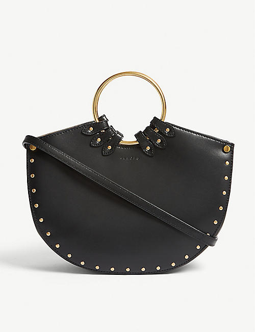 fabace19ac29 SANDRO Leather shoulder bag. Quick view Wish list