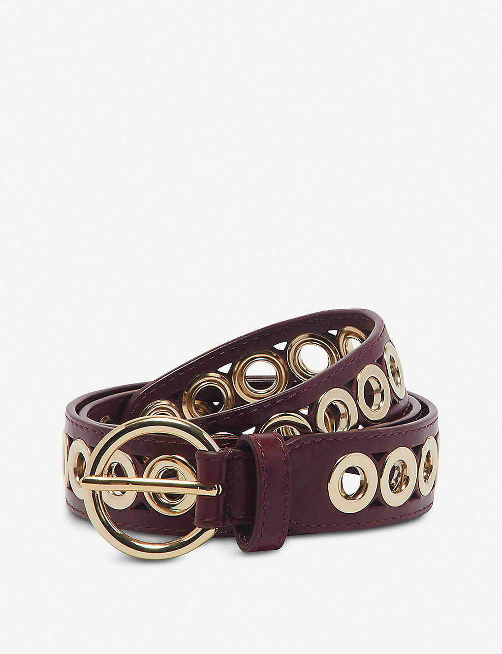 SANDRO: Adelia leather belt