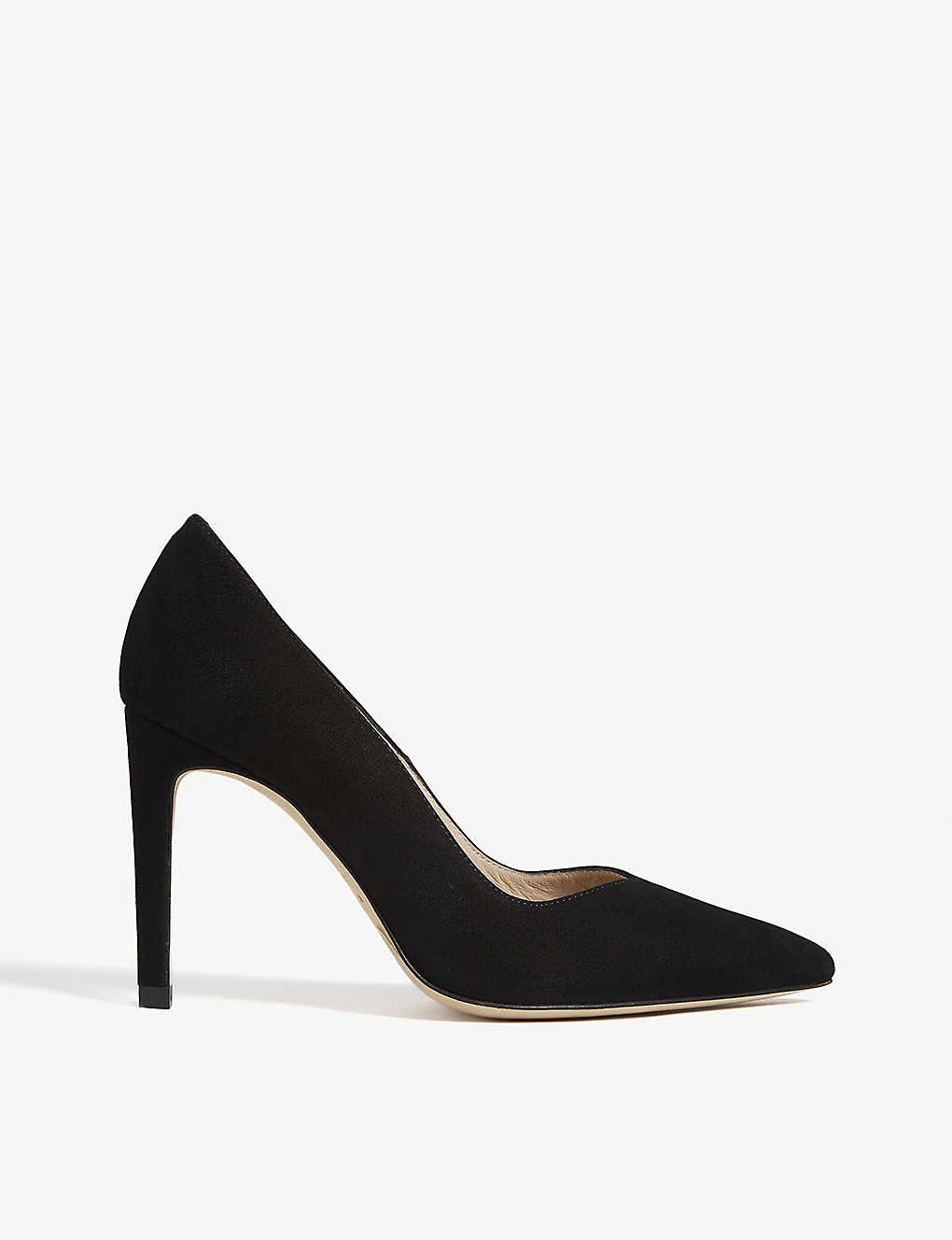 SANDRO: Pointed-toe suede courts