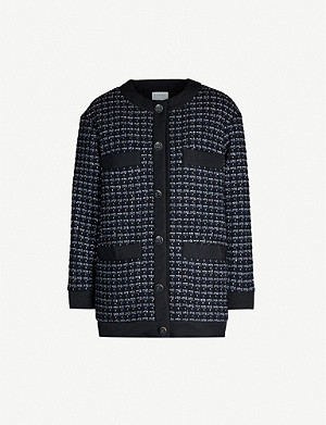 SANDRO Patterned coat