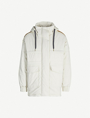 SANDRO Galaxy puffer jacket