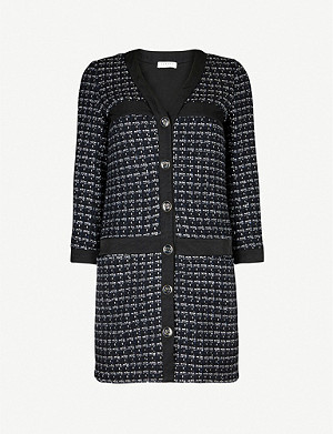 SANDRO Gelina tweed dress