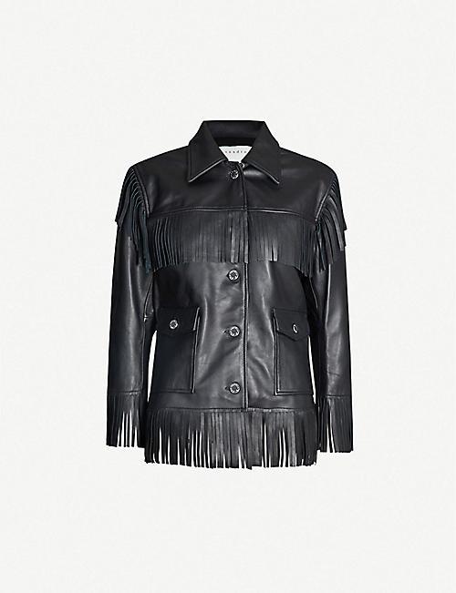 6673d8fe0726 SANDRO - Coats & jackets - Clothing - Womens - Selfridges | Shop Online