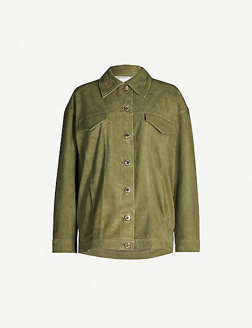 f02c0725e6 SANDRO - Coats & jackets - Clothing - Womens - Selfridges | Shop Online