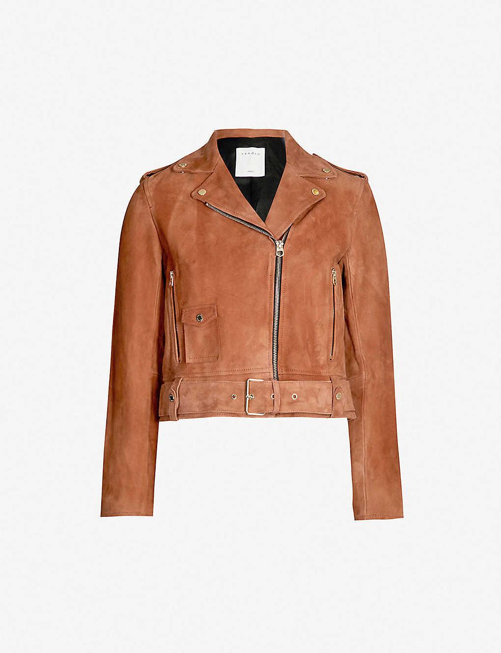 Terracotta Biker Jacket
