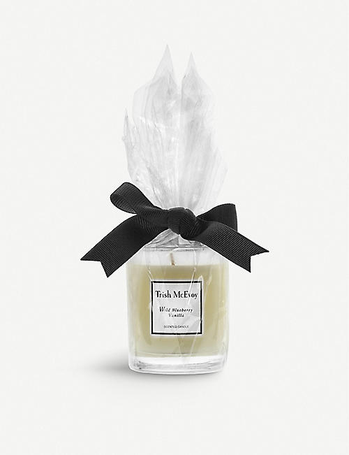 TRISH MCEVOY: Blueberry & Vanilla candle 205g