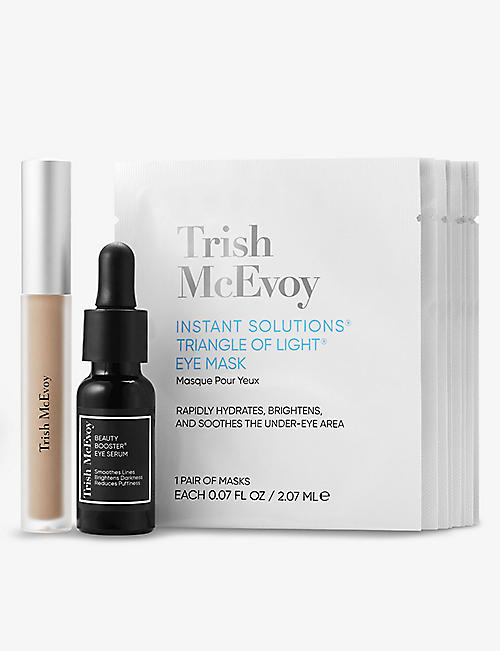TRISH MCEVOY: The Power of Skincare Instant and Future Solutions eye trio