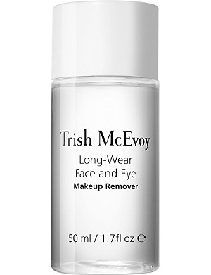 TRISH MCEVOY Long-wear face and eye make-up remover skin cleansing water 50ml