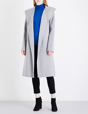 JOSEPH Lima wool and cashmere-blend coat