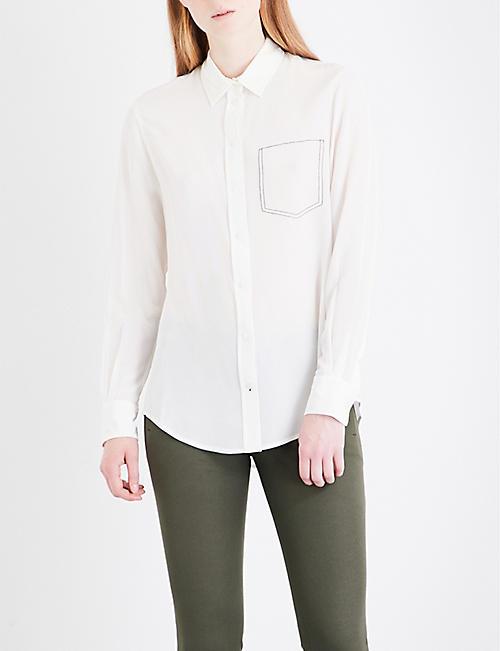 JOSEPH New Garcon silk-crepe de chine blouse