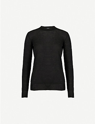 JOSEPH: Ribbed-knit cashmere jumper