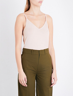 JOSEPH V-neck stretch-jersey camisole