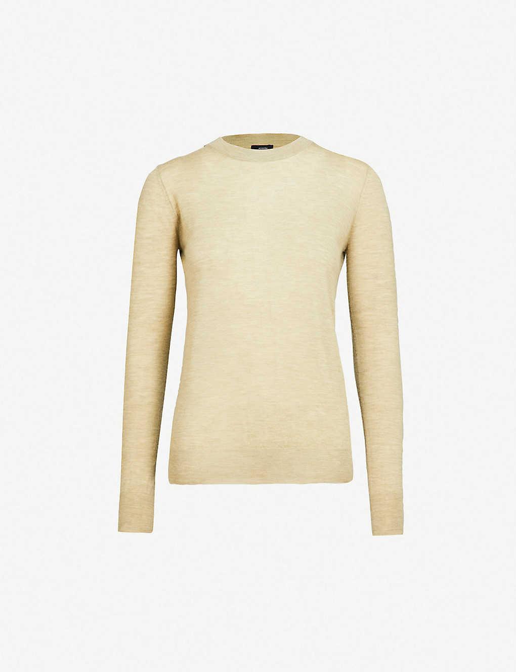 93423139fab JOSEPH - Cashair round-neck cashmere top | Selfridges.com