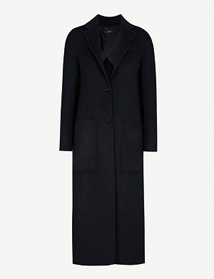 JOSEPH Marvil wool and silk-blend coat