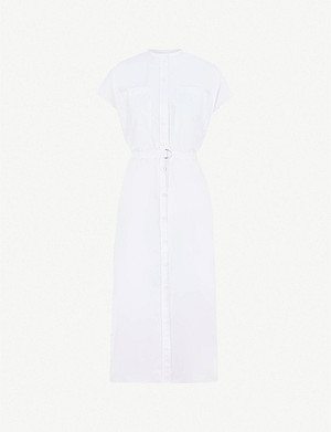 JOSEPH Cotton shift dress