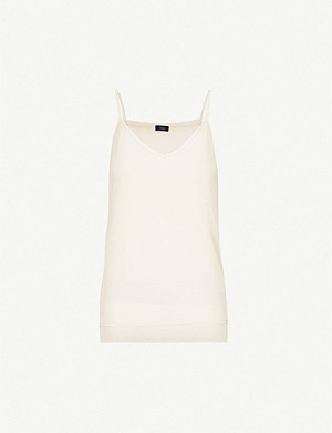 JOSEPH V-neck silk-jersey camisole top