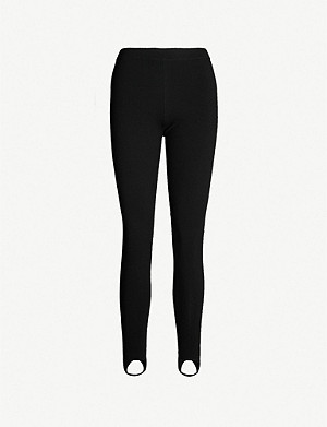 JOSEPH High-rise stretch wool-blend leggings