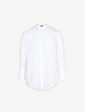 JOSEPH Callen cotton-poplin shirt