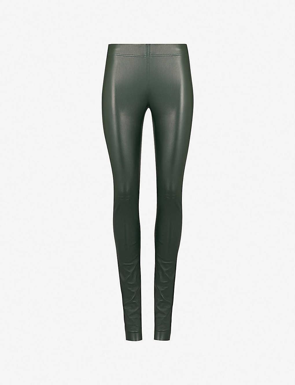2ba213a2fa JOSEPH - Mid-rise skinny leather leggings   Selfridges.com